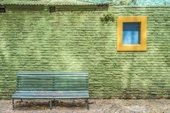 Улица Caminito в Буэносе-Айрес, Аргентине. Стоковое Изображение