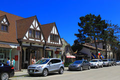 Улица Carmel стоковые изображения rf