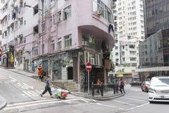 улица Hong Kong стоковая фотография rf