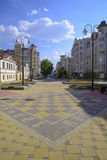 Улица Krasnoarmeyskaya в городе Екатеринбурга Стоковая Фотография RF
