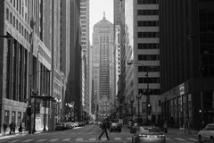 Улица LaSalle стоковое изображение
