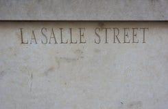 Улица LaSalle стоковая фотография