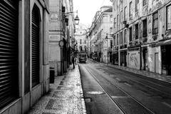улица lisbon стоковая фотография rf