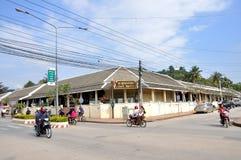 Улица Luang Prabang Стоковые Фотографии RF