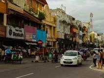 Улица Malioboro Стоковое фото RF