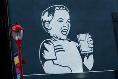 Улица MilkBoy южная Стоковая Фотография