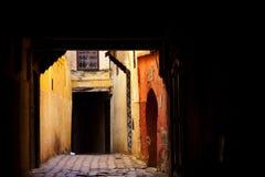 Улица Morrocan Стоковые Фотографии RF