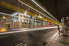 Улица O'Connell - Дублин - Ирландия Стоковые Изображения