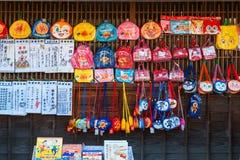 Улица Oharai-machi в городе Ise, префектуре Mie, Японии Стоковое Фото