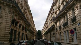 улица paris Стоковая Фотография RF