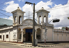 Улица Paseo el Prado в Cienfuegos Куба стоковое изображение