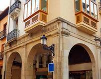 Улица Portales calle Logrono путем Sain Джеймс Стоковая Фотография