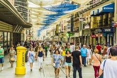 Улица Preciados Стоковые Изображения