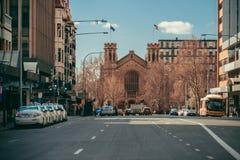 Улица Pulteney к северной террасе Стоковые Фото