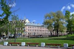 Улица Sadovaya от сада Yusupov Стоковые Фотографии RF