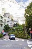 улица san lombard california francisco Стоковая Фотография