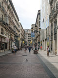 Улица Shoping Сарагосы Стоковое Фото