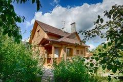 улица toronto деревенского дома Канады Стоковое Изображение RF