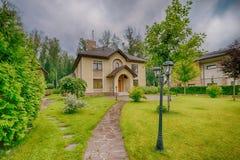улица toronto деревенского дома Канады Стоковая Фотография