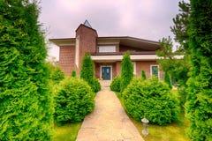 улица toronto деревенского дома Канады Стоковое Изображение