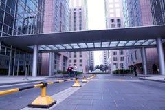 Улица Wangfujing коммерчески, гостиница Грандиозн Hyatt Le Грандиозн Больш стоковая фотография