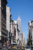 улица york места города новая Стоковое Фото