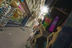 Улицы Амстердама стоковое фото