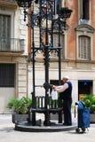 Улицы Барселоны Стоковое фото RF