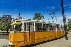 Улицы Будапешта Венгрии Стоковое Изображение RF