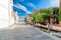 Улицы Венеции Стоковые Фото