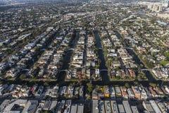 Улицы воздушная Венеция Калифорния канала Стоковая Фотография