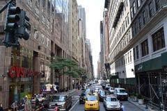 Улицы в Нью-Йорке Стоковое Изображение RF