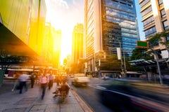 Улицы города Брисбена стоковое изображение