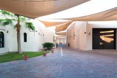 Улицы Дохи, Катара Стоковое Изображение