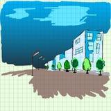 Улицы изображения книги тренировки Стоковые Фотографии RF