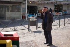 Улицы Капри, Италия стоковая фотография