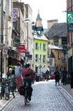 Улицы Кембриджского университета, Кембриджа, Англии, Великобритании Стоковое фото RF