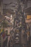 Улицы Кито, эквадора Стоковая Фотография RF