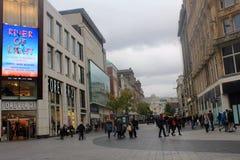 Улицы Ливерпуля, в Великобритании Стоковые Изображения