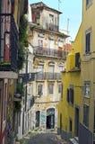 Улицы Лиссабона Стоковые Изображения RF