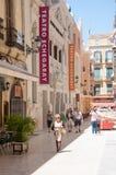 Улицы Малаги, Испания Стоковое фото RF