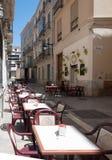Улицы Малаги, Испания Стоковые Фото