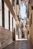 Улицы Малаги, Испания Стоковые Изображения
