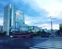 Улицы Москвы Стоковое Изображение RF