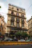 Улицы Неаполь и старые здания, Италия Стоковое Изображение RF