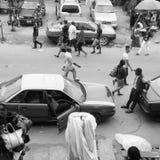Улицы Нигерии Стоковое Изображение RF
