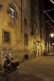 Улицы ночи Пизы стоковые фото