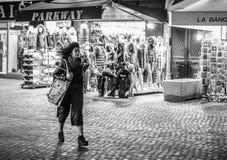 Улицы Парижа перед atentats в ноябре Стоковые Изображения RF