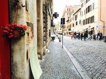 Улицы Рим, Италии стоковое фото rf