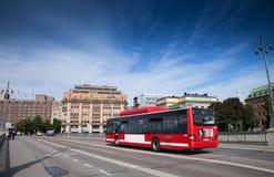 Улицы Стокгольма Стоковые Изображения RF